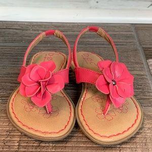 BOC Toddler Girls Pink Punch CorII Size 8 Sandals